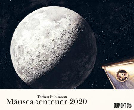 Schöne Kinderkalender und Familienkalender 2020: Mäuseabenteuer von Torben Kohlmann, Cover // HIMBEER
