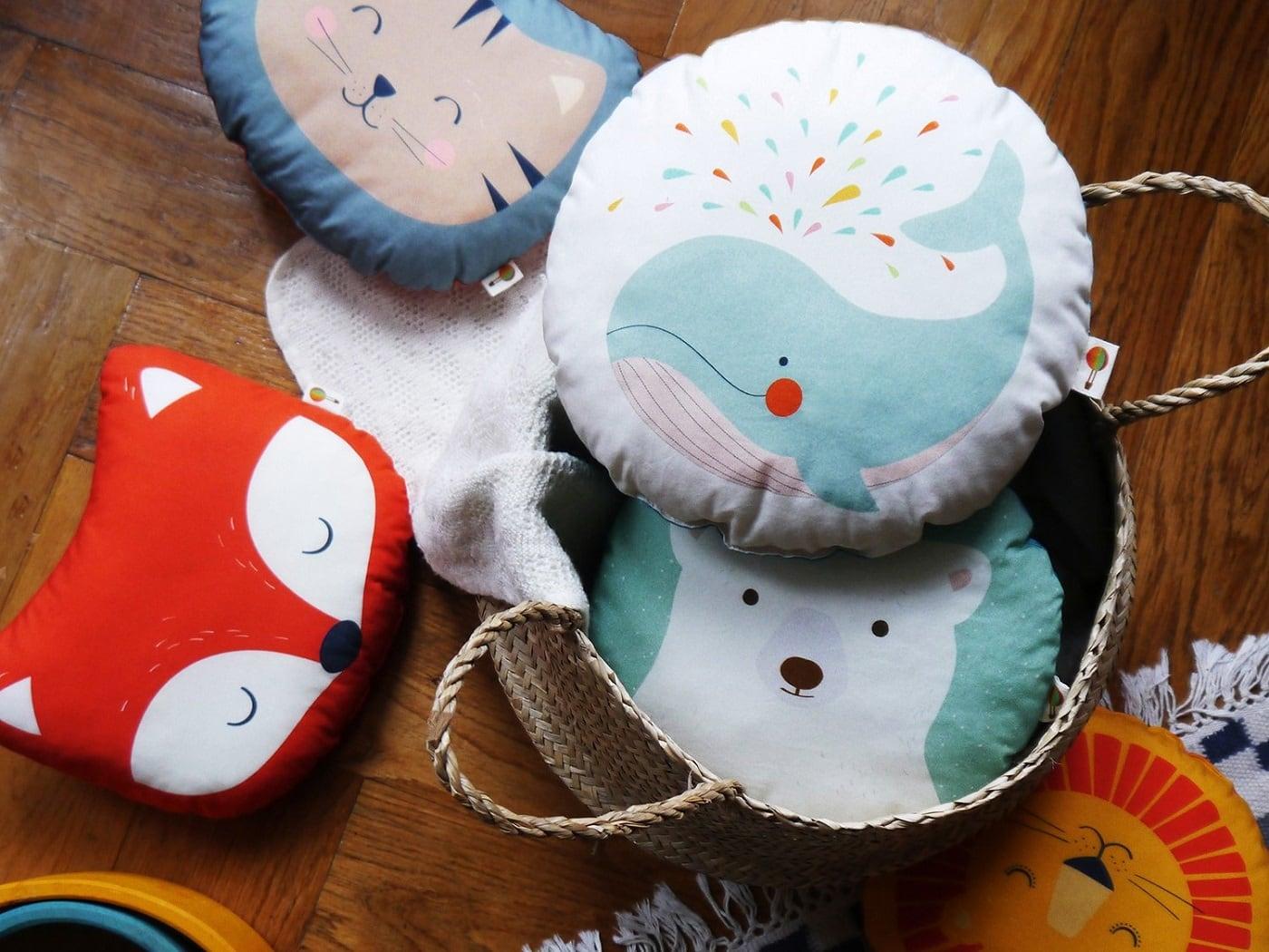 Kleine Tierkissen als Weihnachtsgeschenk für Kinder // HIMBEER