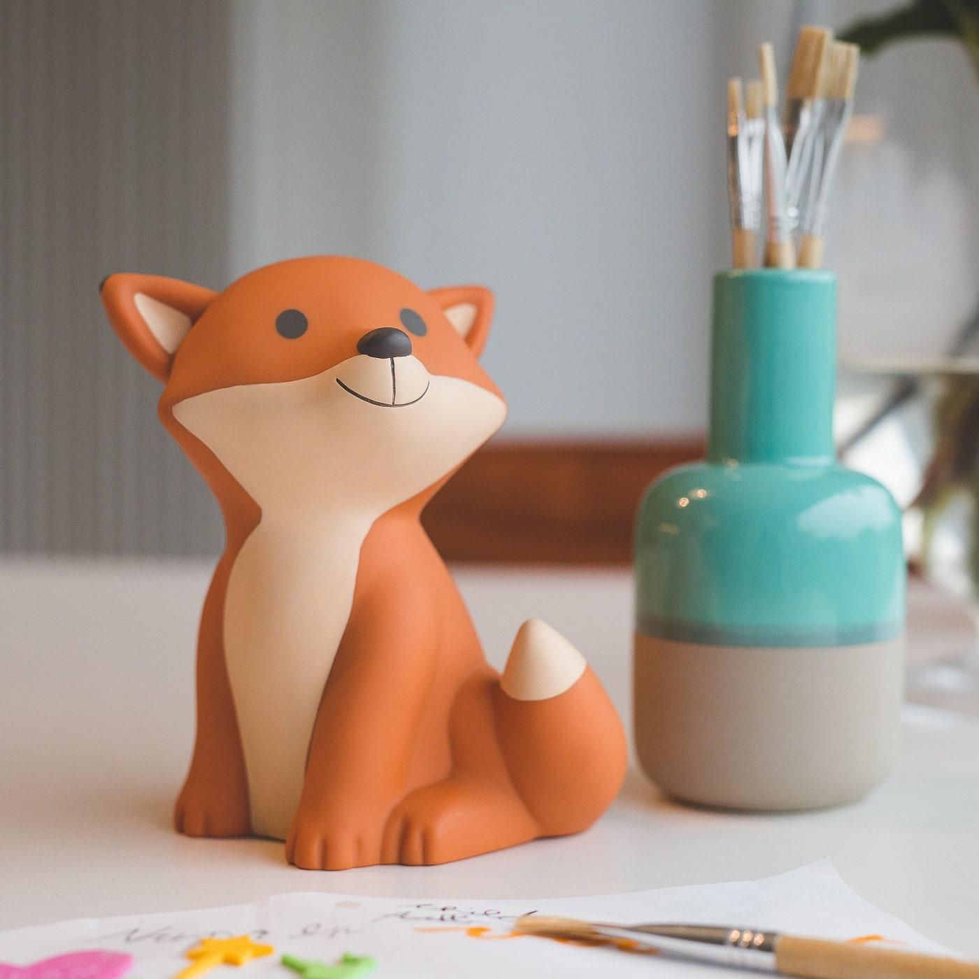 Nachtlampe Fuchs als Weihnachtsgeschenk für Kinder // HIMBEER