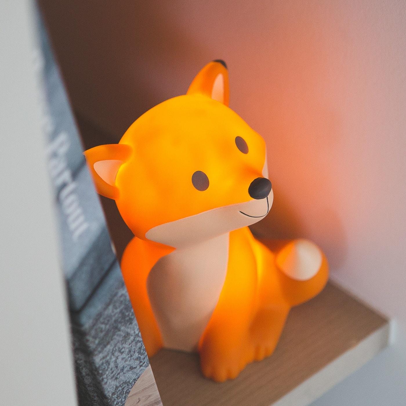 Leuchtende Nachtlampe als Weihnachtsgeschenk für Kinder // HIMBEER