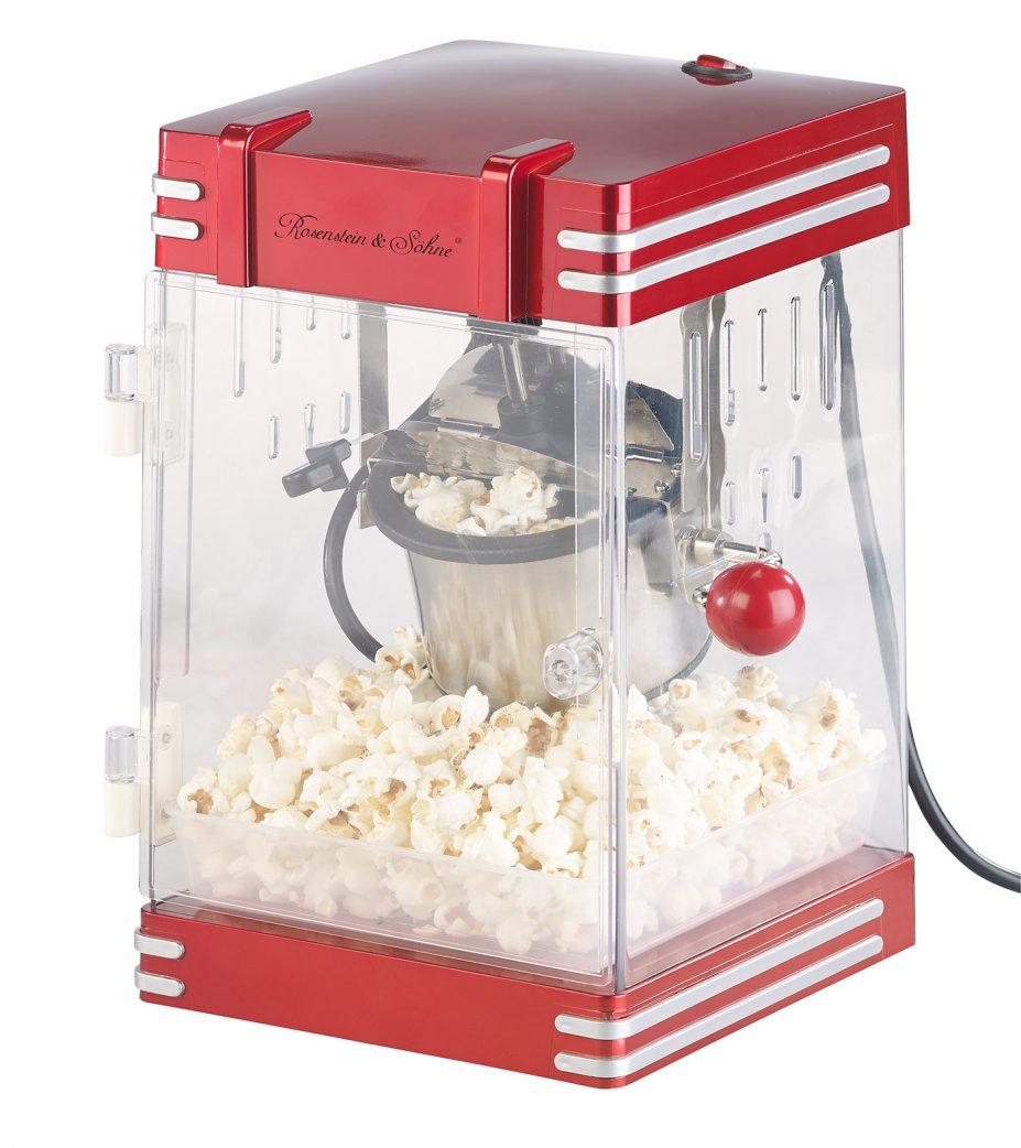 Geschenkidee für Jugendliche: Retro-Popcorn-Machine fürs Heimkino // HIMBEER