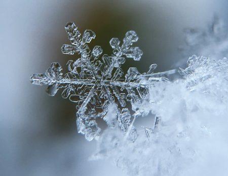 Winter mit Kindern: Schneeflocke // HIMBEER