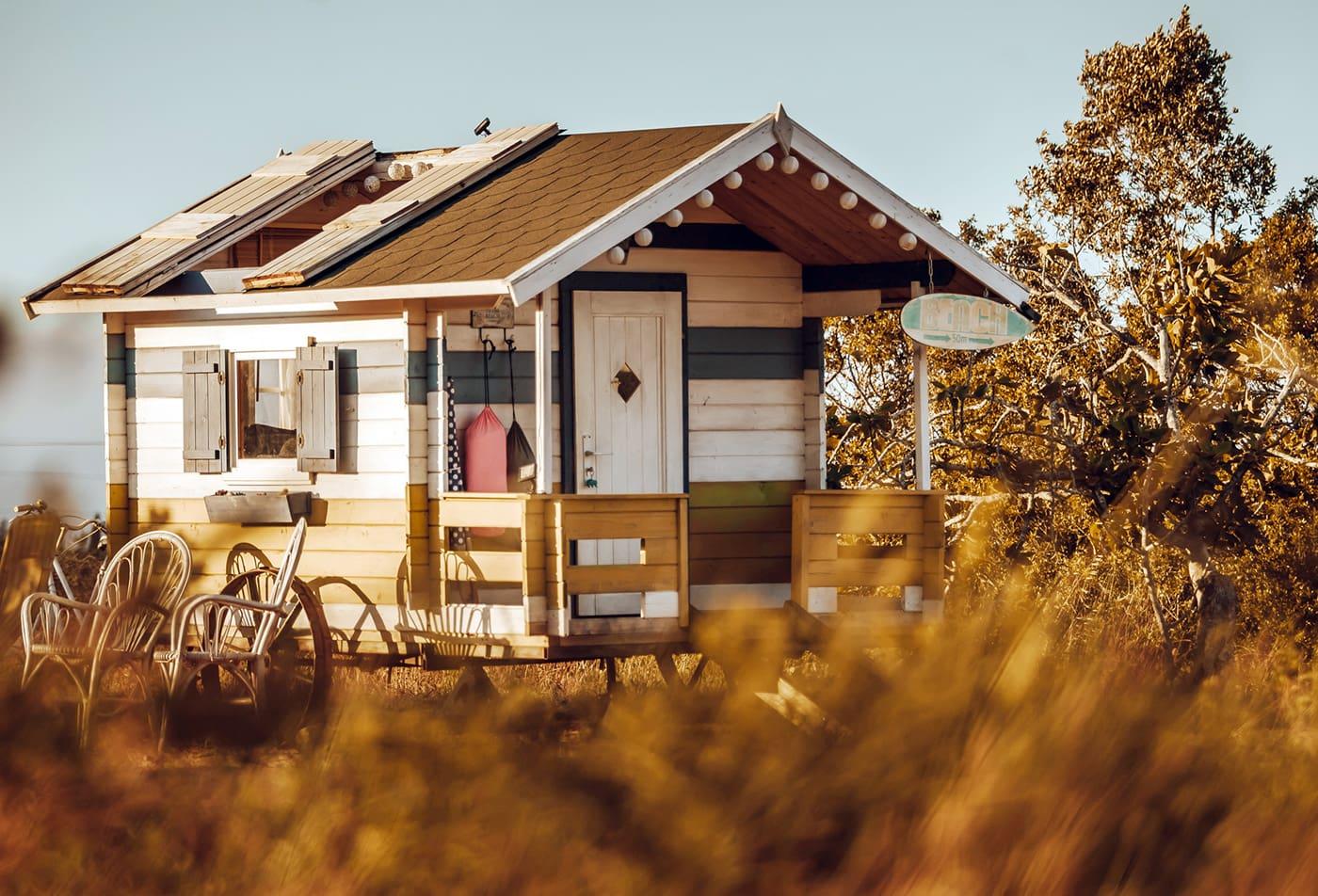 Bauwagen in der Natur – Familienurlaub an der Algarve // HIMBEER