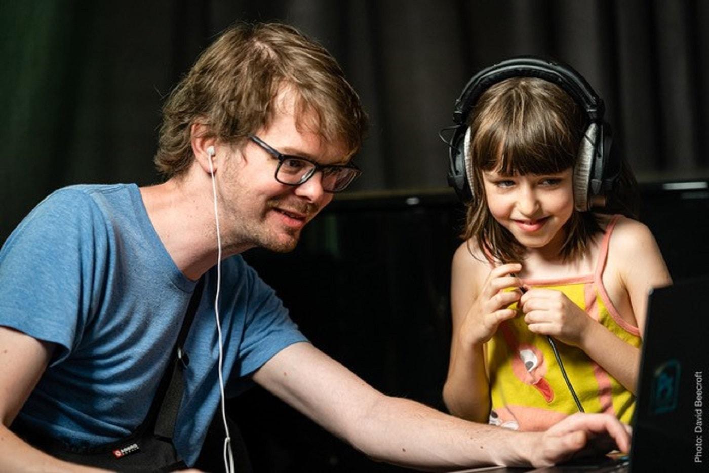 Kinder musizieren in den Winterferien // HIMBEER