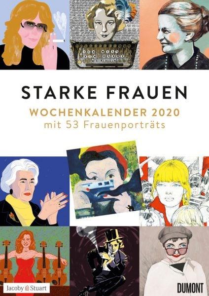 Wochenkalender 2020: Starke Frauen // HIMBEER