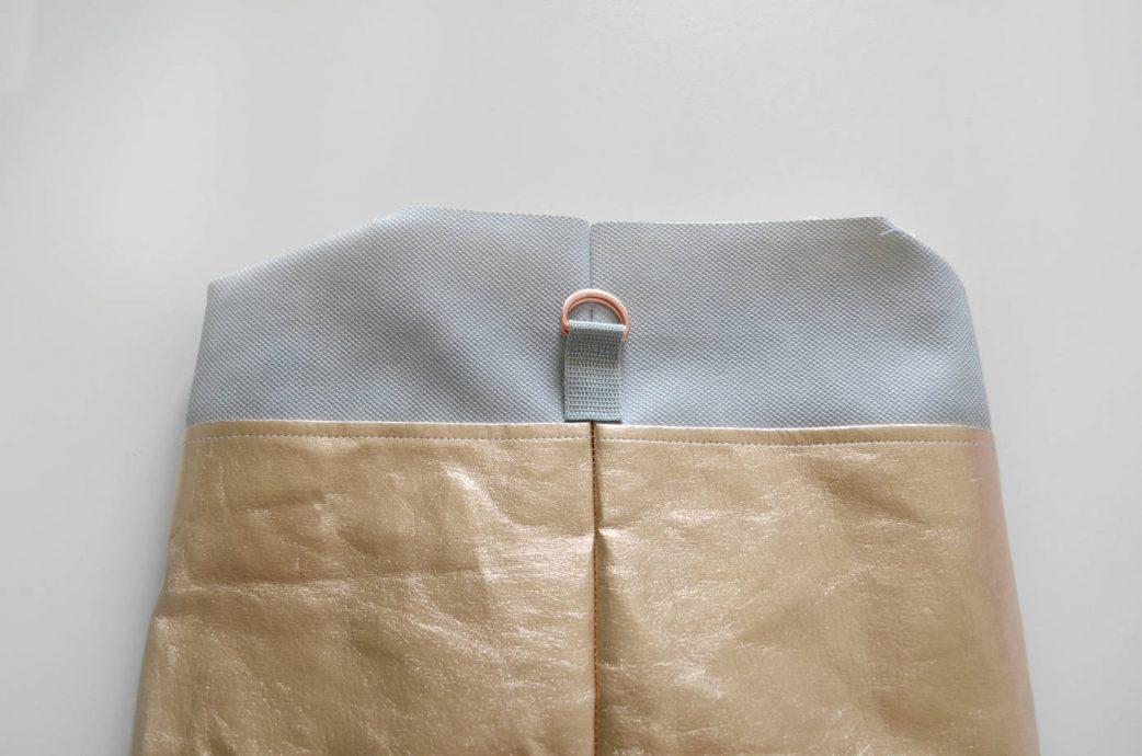 Tasche im Metallic Look zum Selbernähen: Schritt 10 // HIMBEER