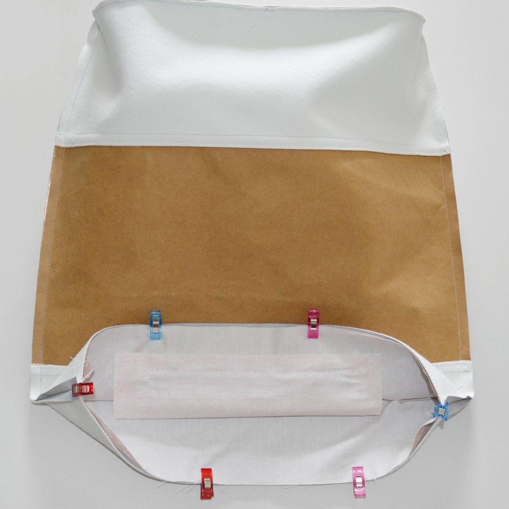 Bucket Bag im Metallic Look: Schritt 11 // HIMBEER