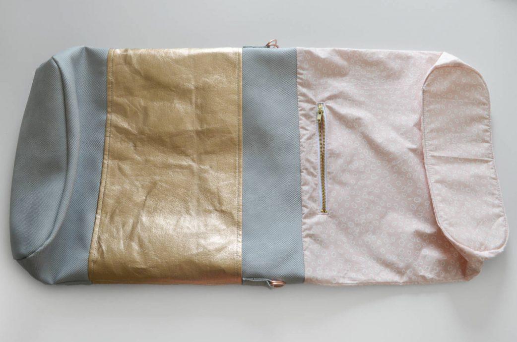 DIY-Anleitung Tasche im Metallic Look: Schritt 12 // HIMBEER
