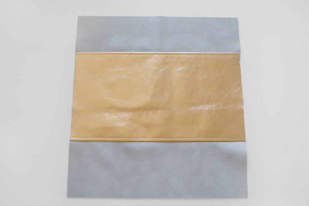 Bucket Bag im Metallic Look: Schritt 3 // HIMBEER