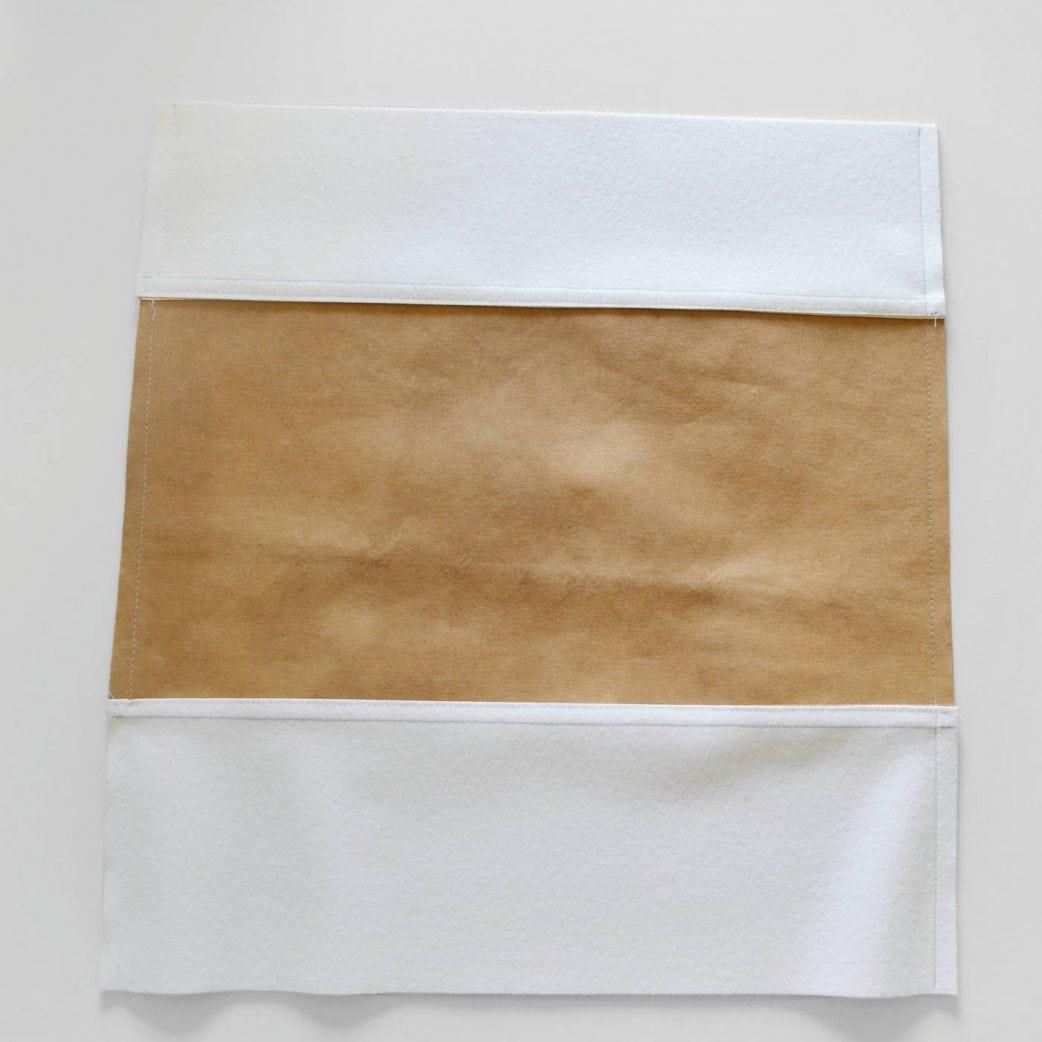 DIY-Anleitung: Metallic Look-Tasche: Schritt 4 // HIMBEER
