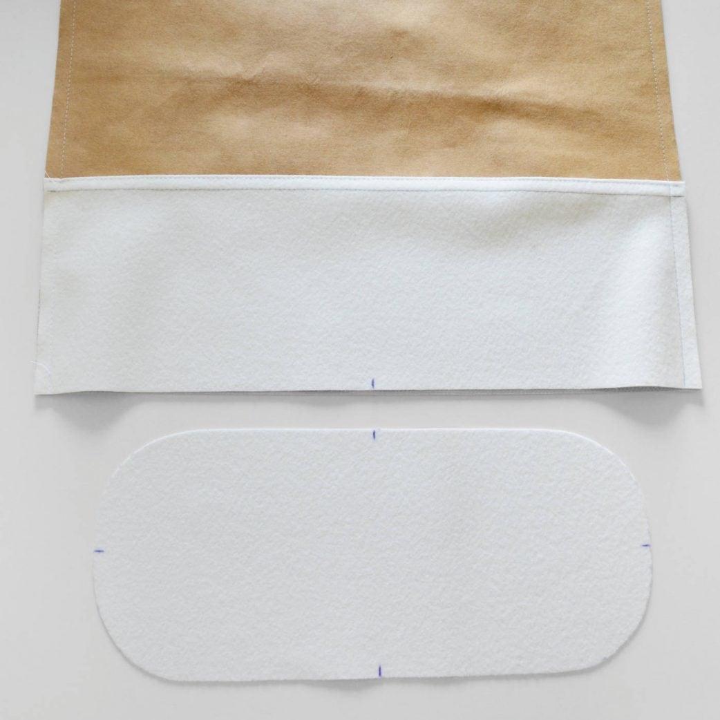 Bucket Bag im Metallic Look: Schritt 5 // HIMBEER