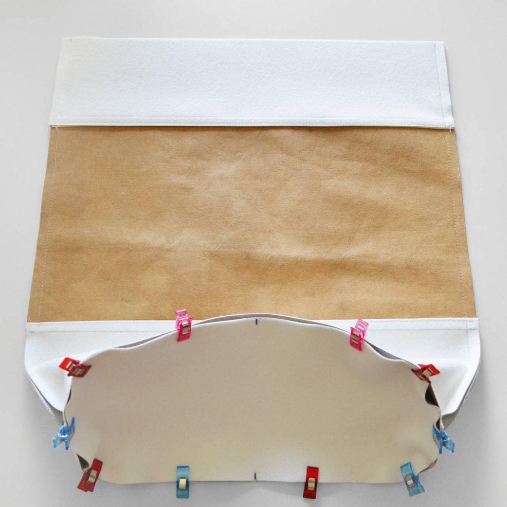 DIY-Anleitung: Tasche im Metallic Look zum Selber Nähen: Schritt 6 // HIMBEER
