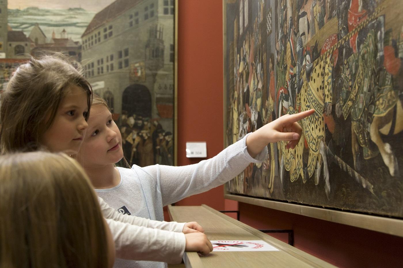 Kinderführung Ritter im Deutschen Historischen Museum // HIMBEER