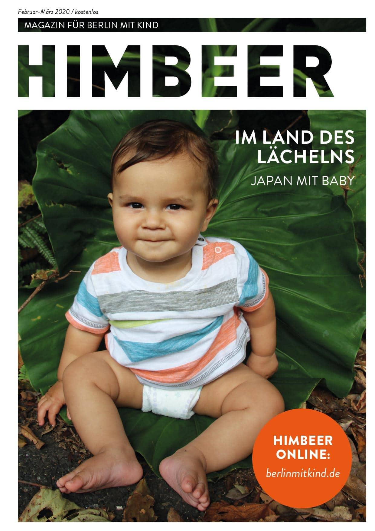 Familienmagazin HIMBEER Berlin mit Kind Februar März 2020 // HIMBEER