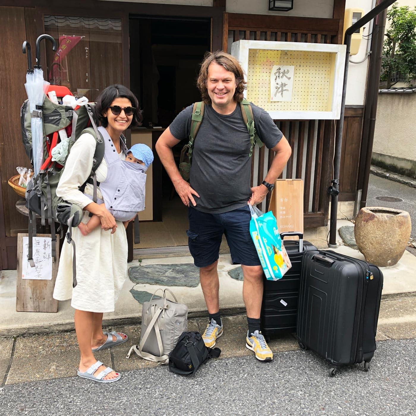 Japan mit Baby: Gepäck // HIMBEER