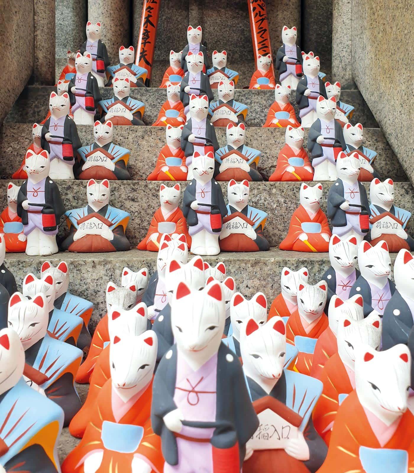 Japanreise mit Baby: Shinto Götter in Fuchsgestalt // HIMBEER