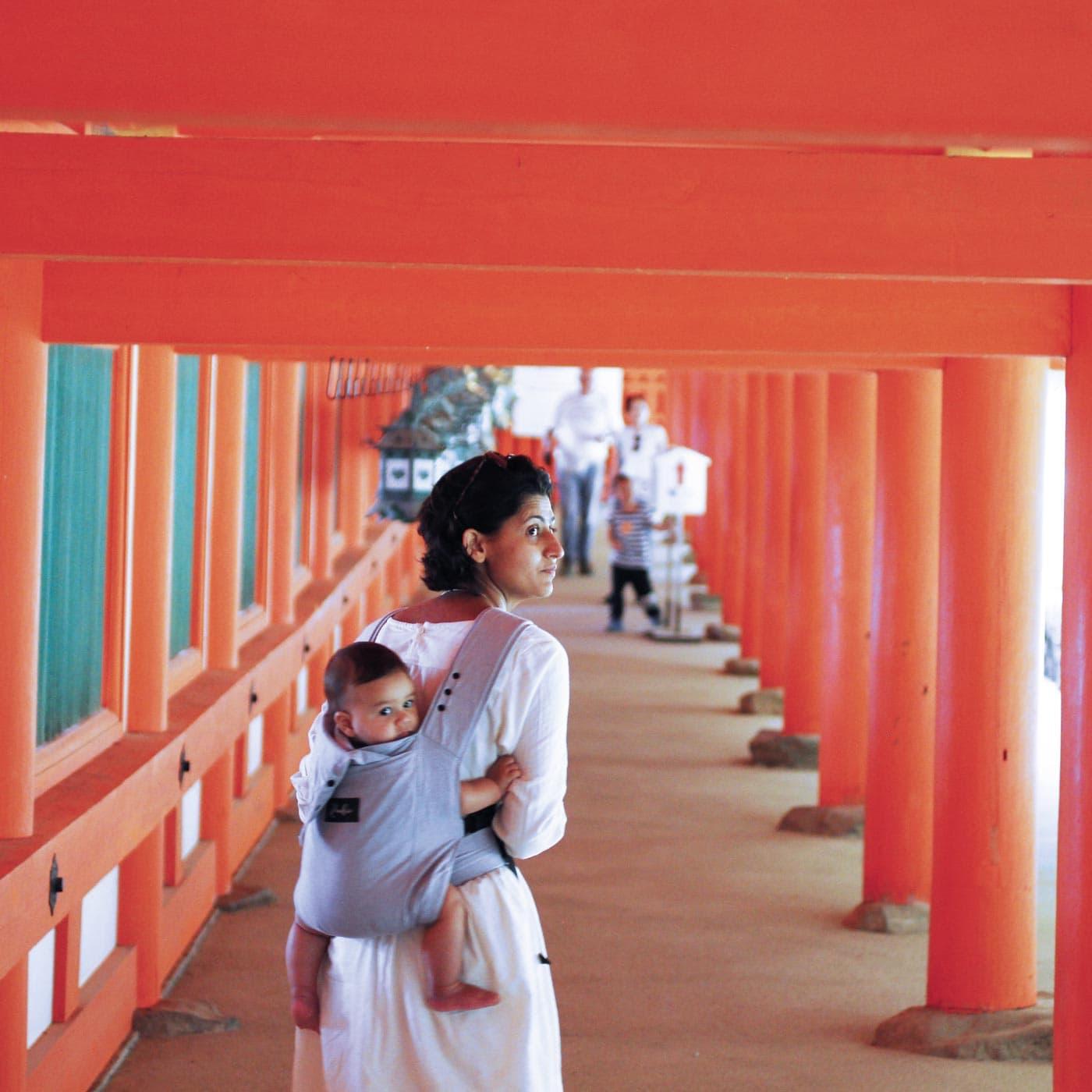 Tempel besichtigen in Japan mit Baby // HIMBEER