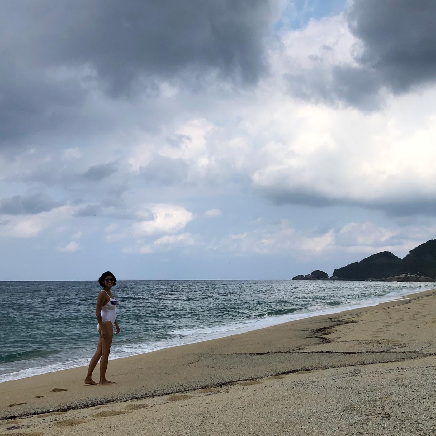 Japanreise mit Baby: Am Strand // HIMBEER