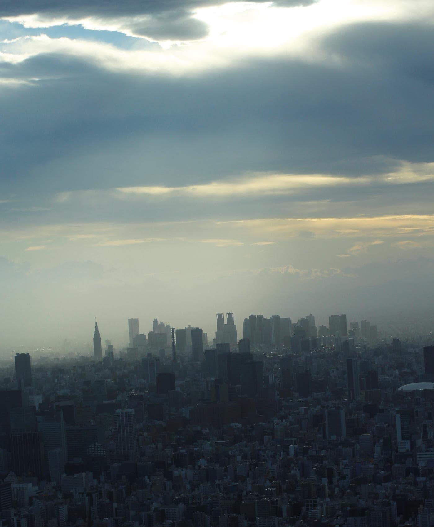 Japanreise mit Baby: Megacity Tokio Skyline // HIMBEER