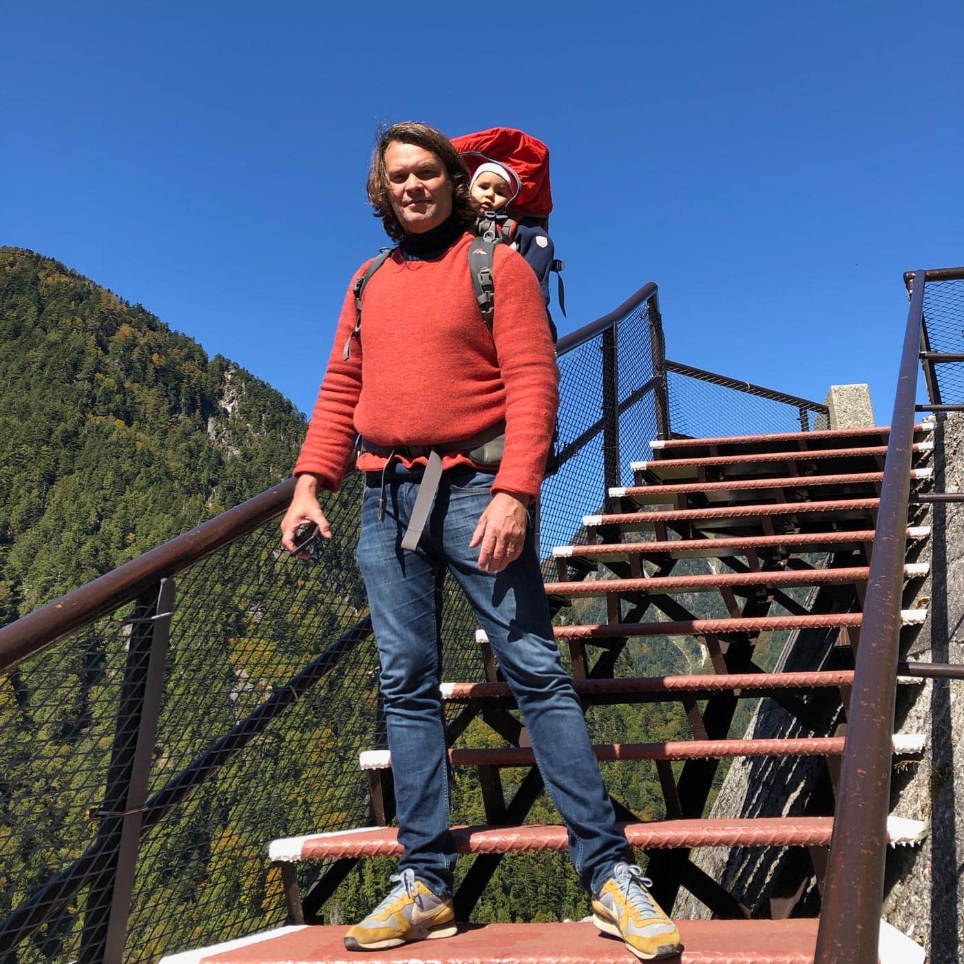 Wandern in den japanischen Alpen mit Baby // HIMBEER