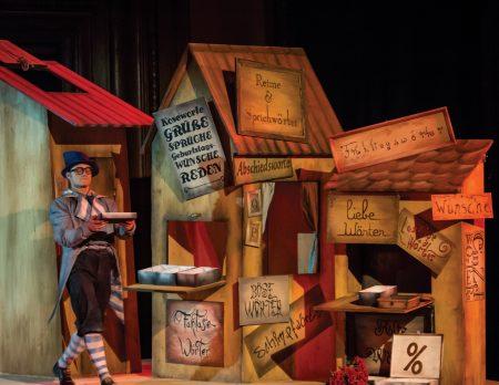 Kindertheater in Berlin – die besten Stücke: Die große Wörterfabrik