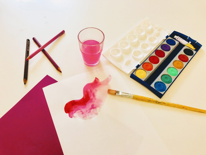 Kreativ-Workshop im PalaisPopulaire für Familien mit Kindern in Berlin // HIMBEER