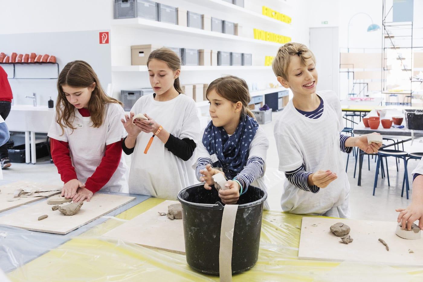 Aktionstag im Museum für Familien mit Kindern in Berlin // HIMBEER
