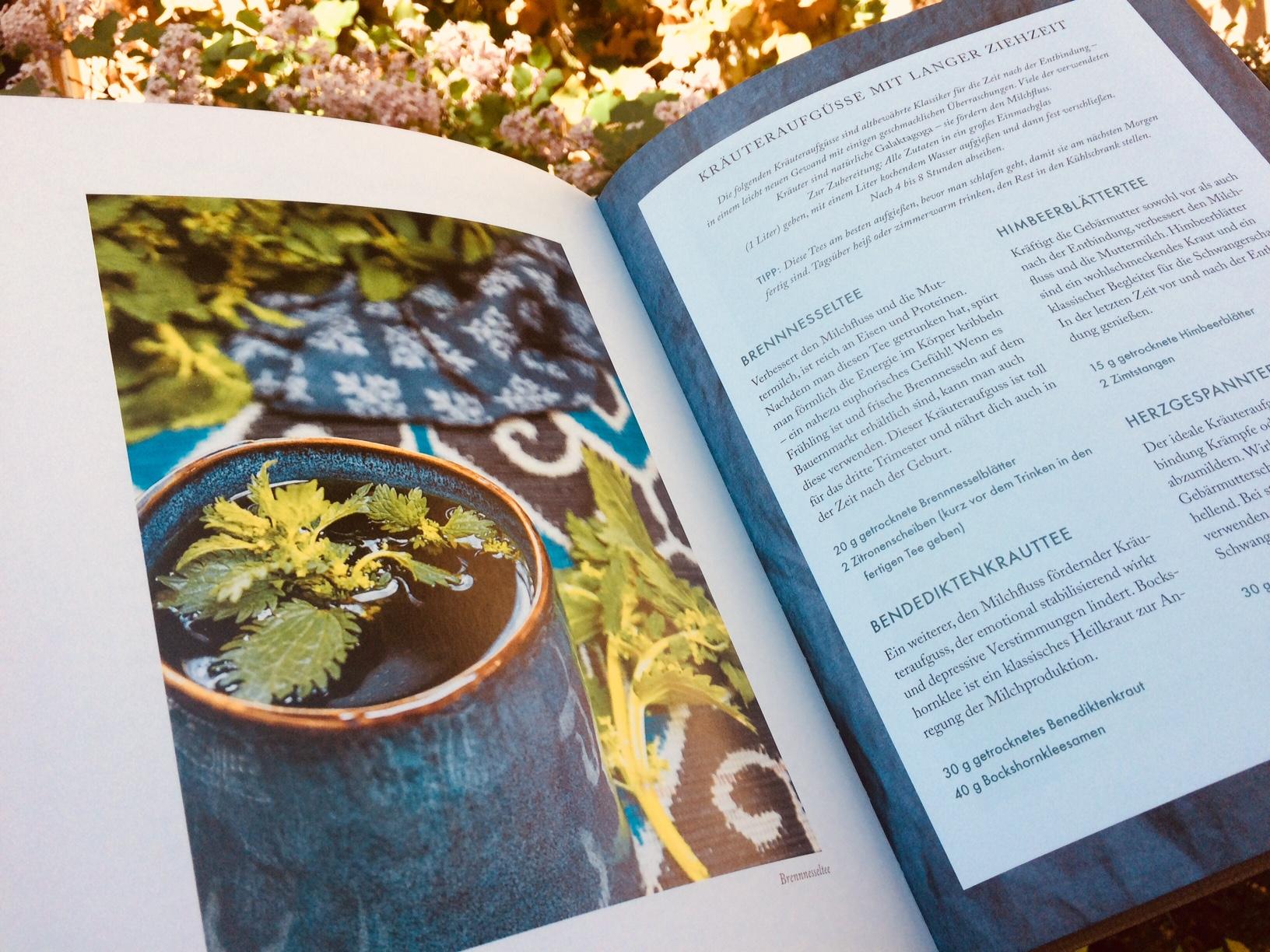 Rezepte fürs Wochenbett – Gerichte für die ersten vierzig Tage mit Baby: Blick ins Kochbuch // HIMBEER