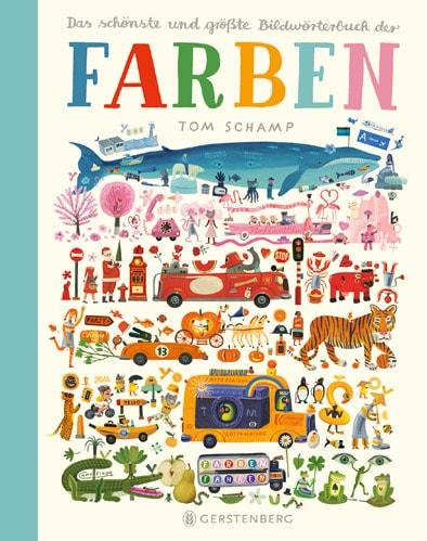 Bildwörterbuch: Farben // HIMBEER