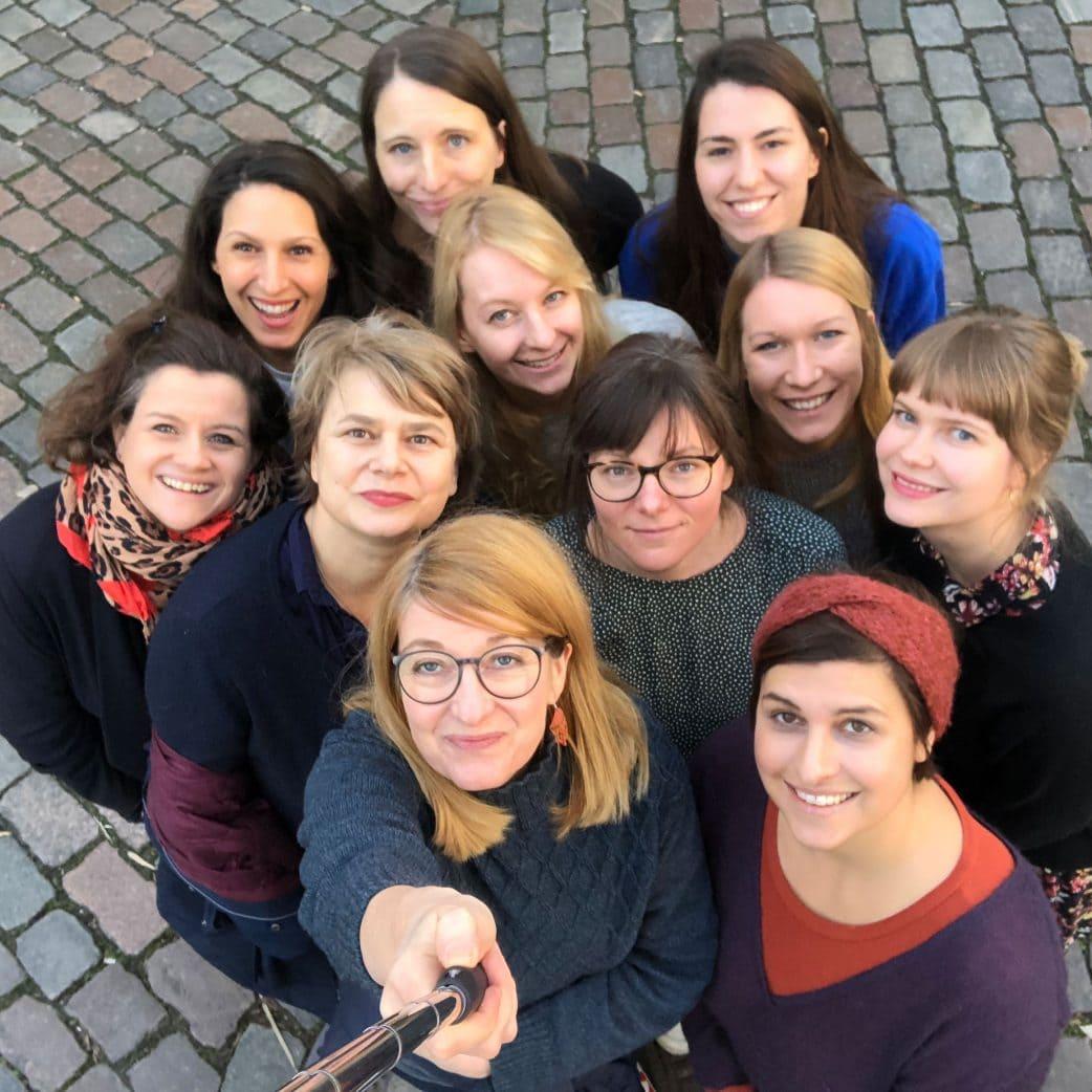 HIMBEER Verlag in Berlin: das HIMBEER Team