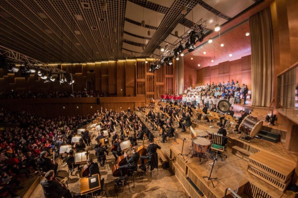 Musikalische Klänge beim Konzert im RSB mit Juri Tetzlaff // HIMBEER