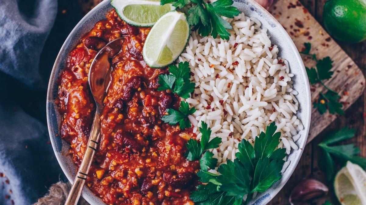 Köstliche Chili sin Carne für Familien // HIMBEER