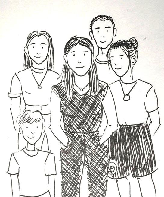 Homeoffice mit Kindern: Alleinerziehende Mutter mit vier Kindern // HIMBEER