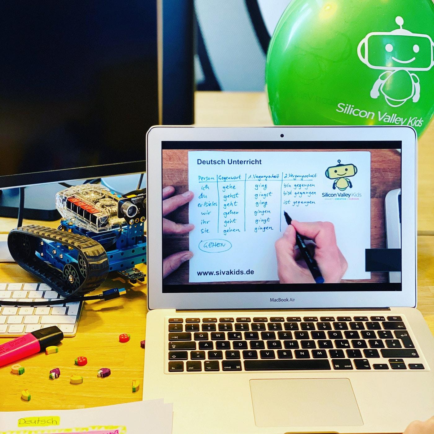 Online-Lernen mit den Silicon Valley Kids // HIMBEER