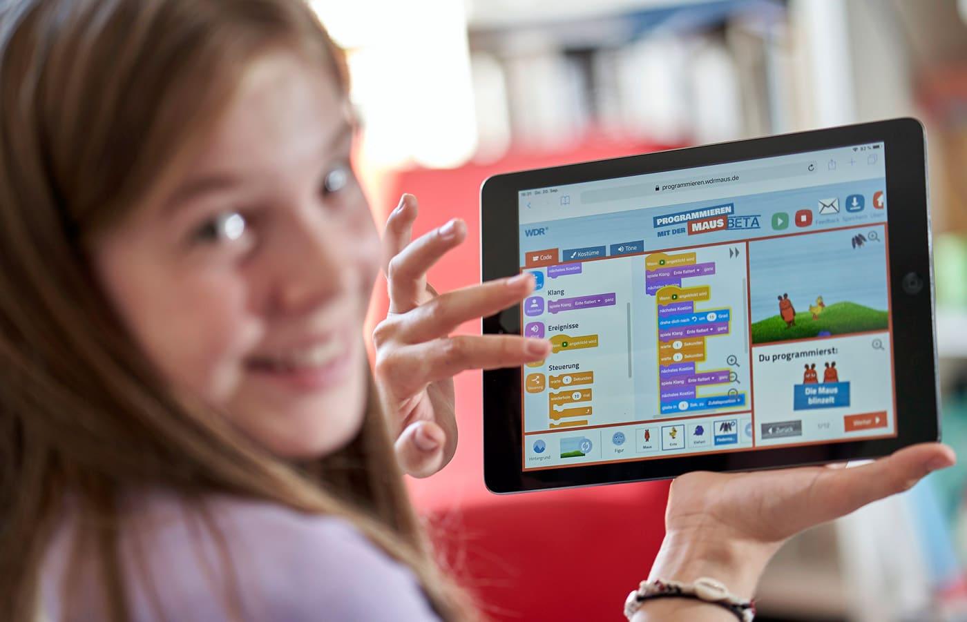 Lernprogramme für Kinder auf dem Sendung mit der Maus // HIMBEER