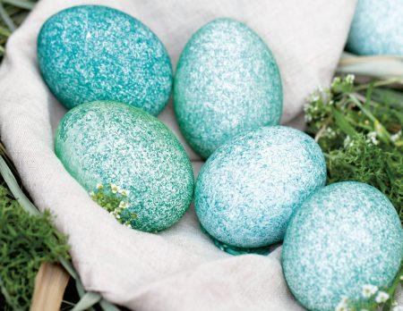 Ostereier mit Reis färben // HIMBEER