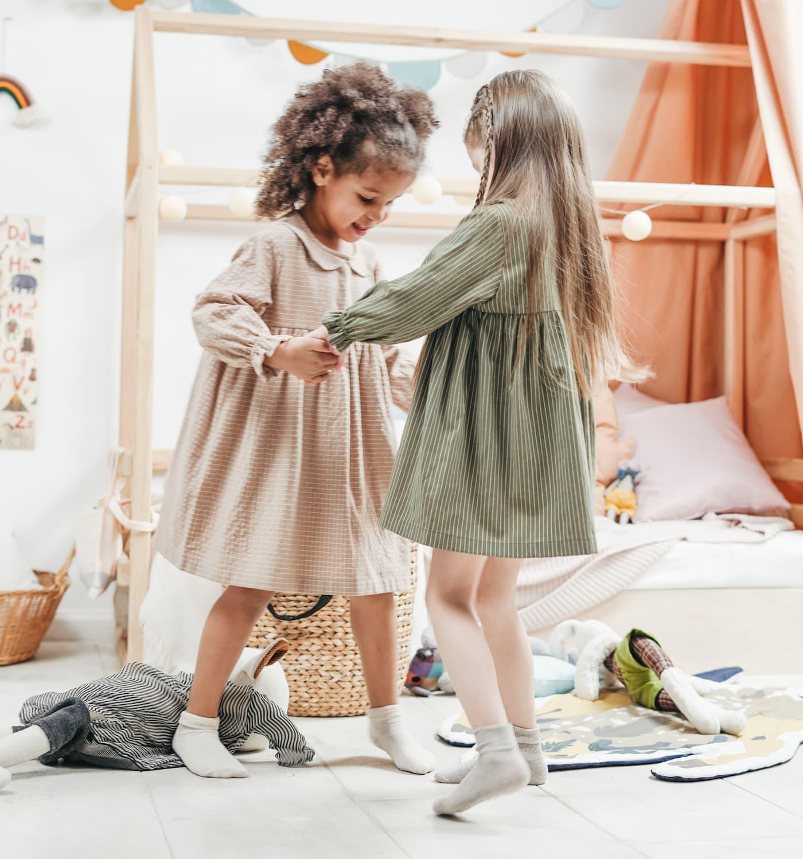 Sport für zu Hause Kinder Online-Sportkurse Mädchen tanzen //HIMBEER