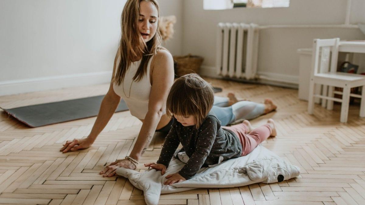 Sportübungen für zu Hause Kinder Yoga //HIMBEER