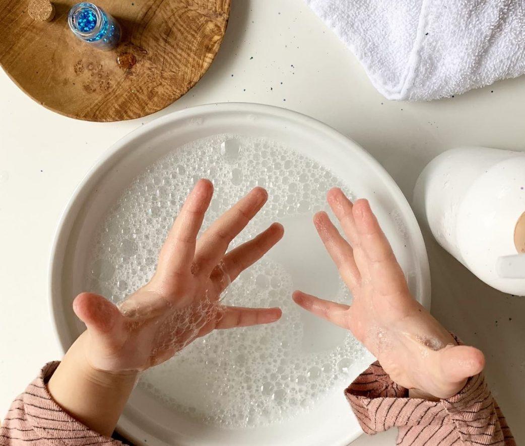 Hände waschen, sauber, Kinder, Blog, Instagram, Seife