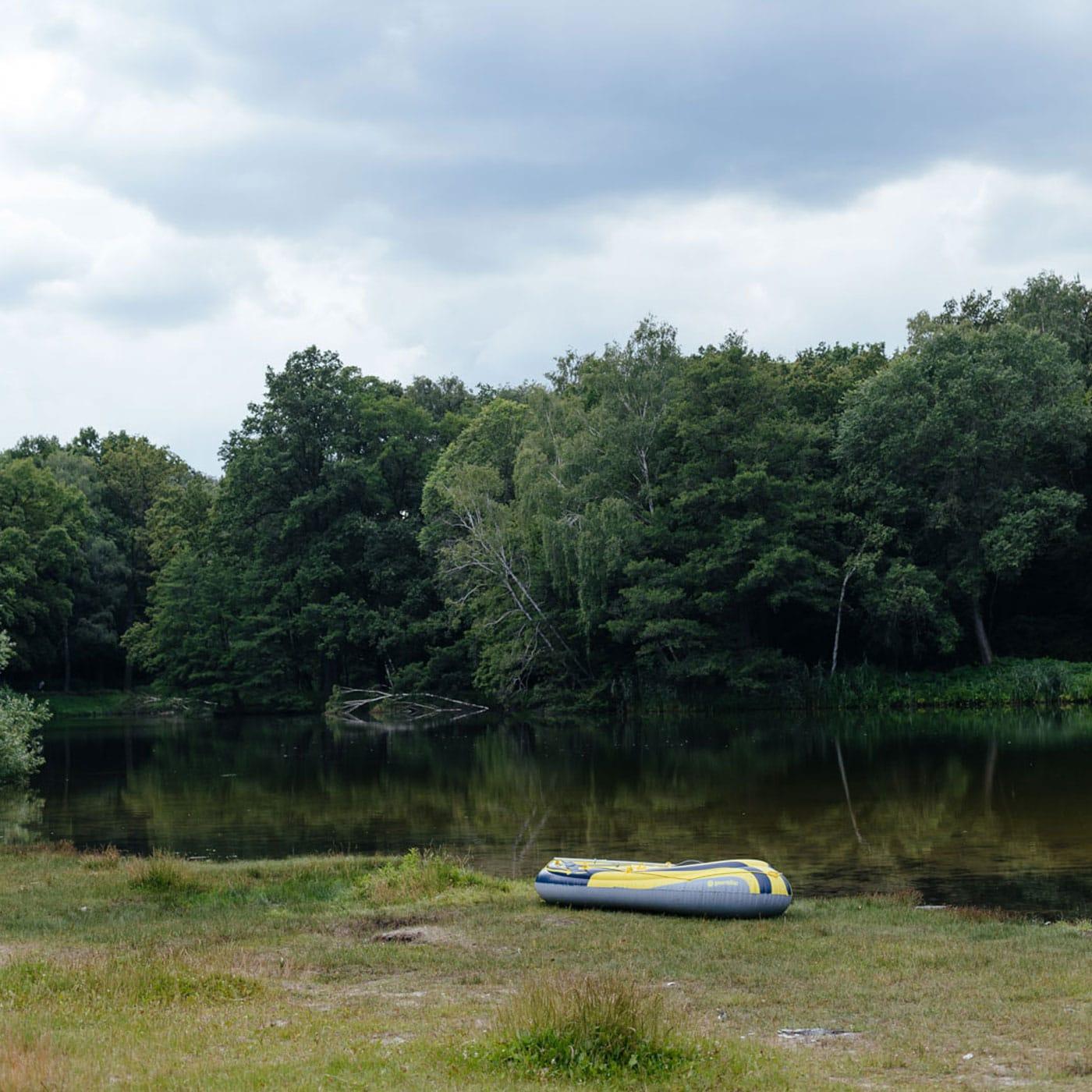 Ausflug mit Kindern in Berlin: Waldsee // HIMBEER