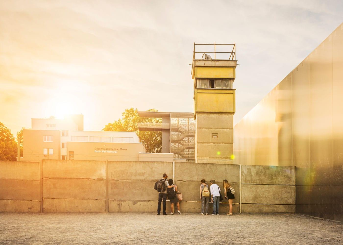Ausflug in Berlin: Gedänkstätte Berliner Mauer // HIMBEER
