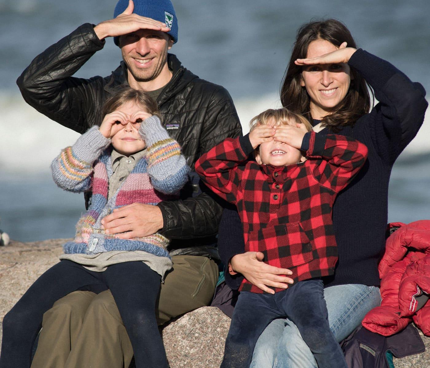 Nora Hänska und Familie // HIMBEER