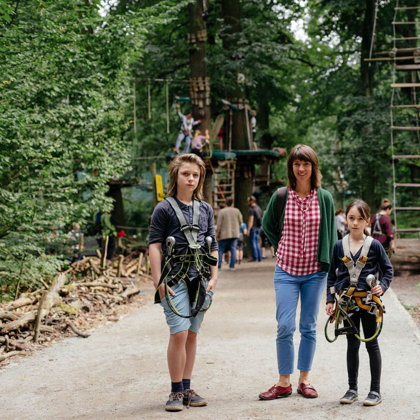 Ausflug mit Kindern in Berlin: Jungfernheide – Waldhochseilgarten Jungfernheide // HIMBEER