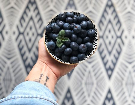 Gesunder Snack beim Lernen: Blaubeeren // HIMBEER