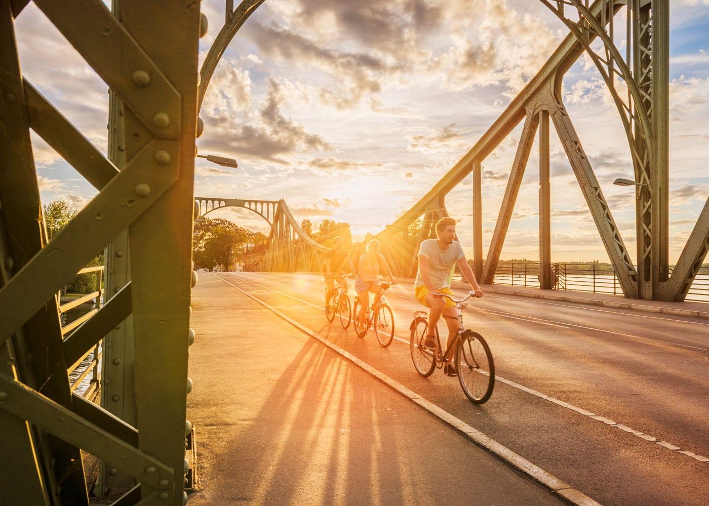 Ausflug in Berlin: Mauerradweg – Glienicker Brücke // HIMBEER