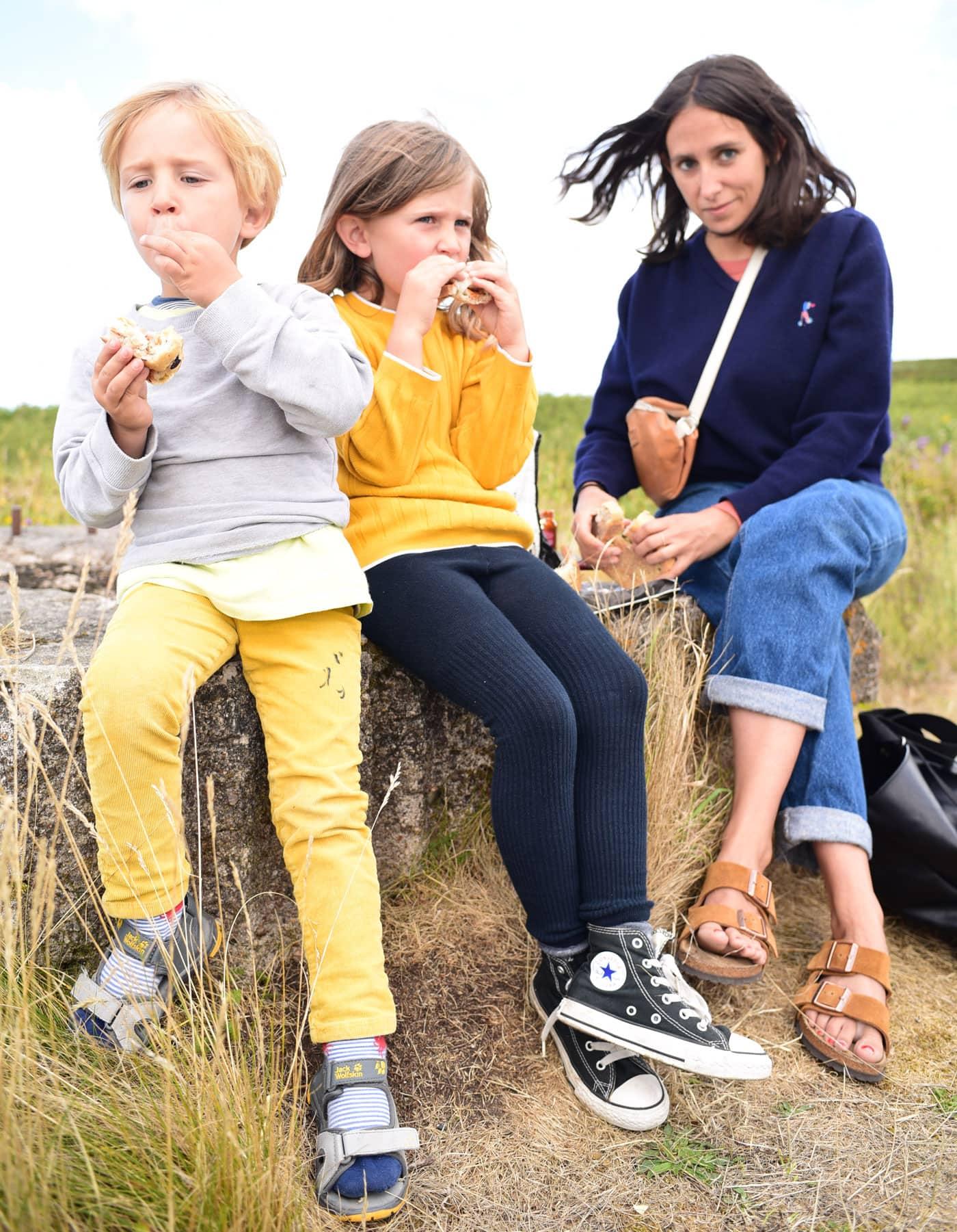 Nora Hänska mit Kindern // HIMBEER