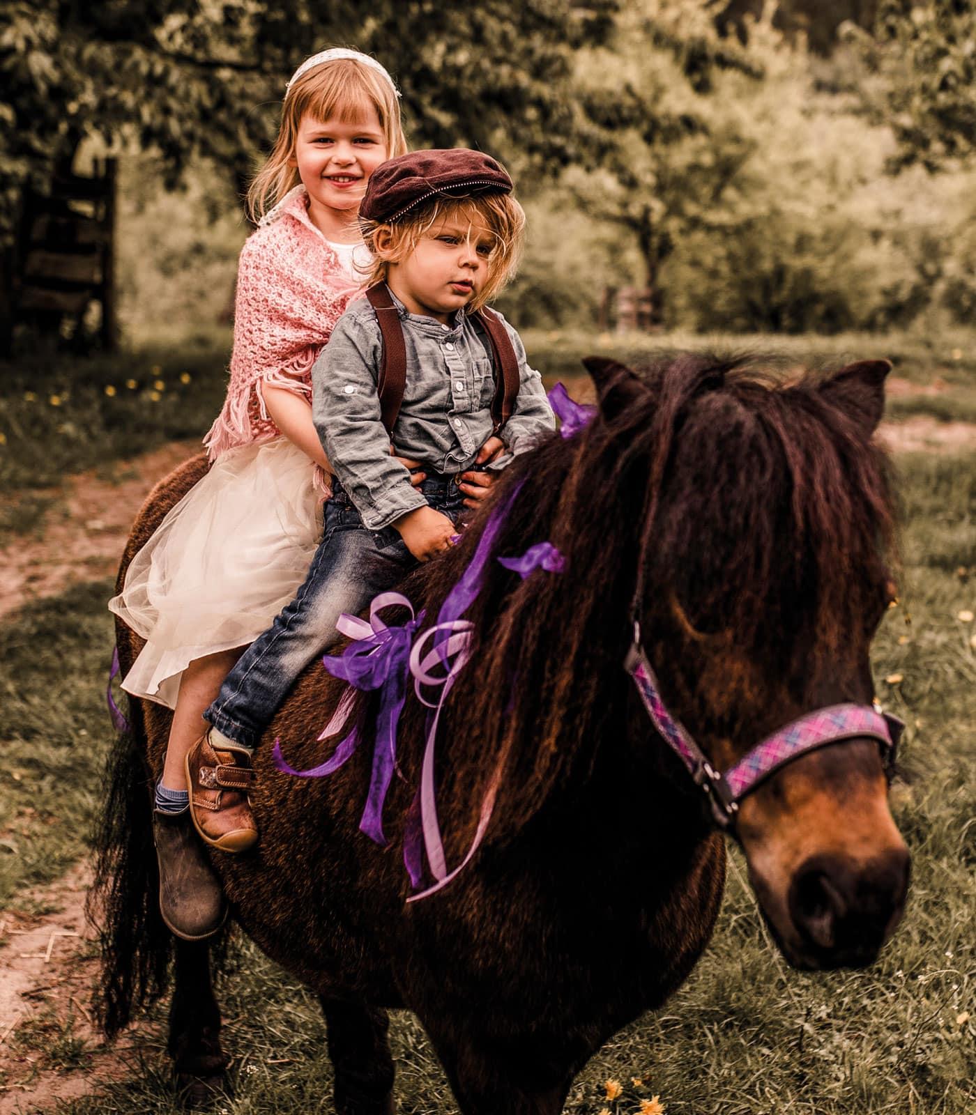 Ponyreiten für die Kinder – der Hit beim Familienfest // HIMBEER