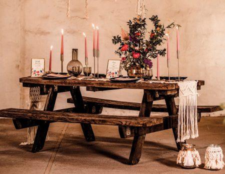 Schöne Tischdeko für Familienfeiern// HIMBEER