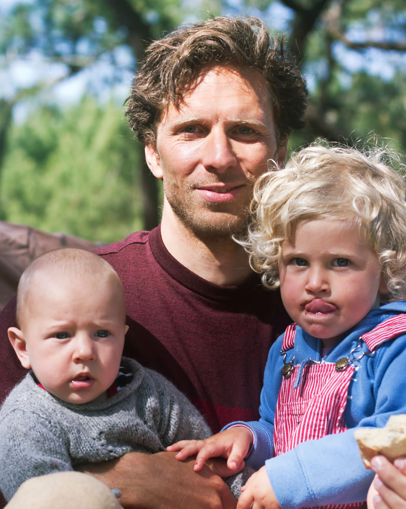 Vater mit Kindern // HIMBEER