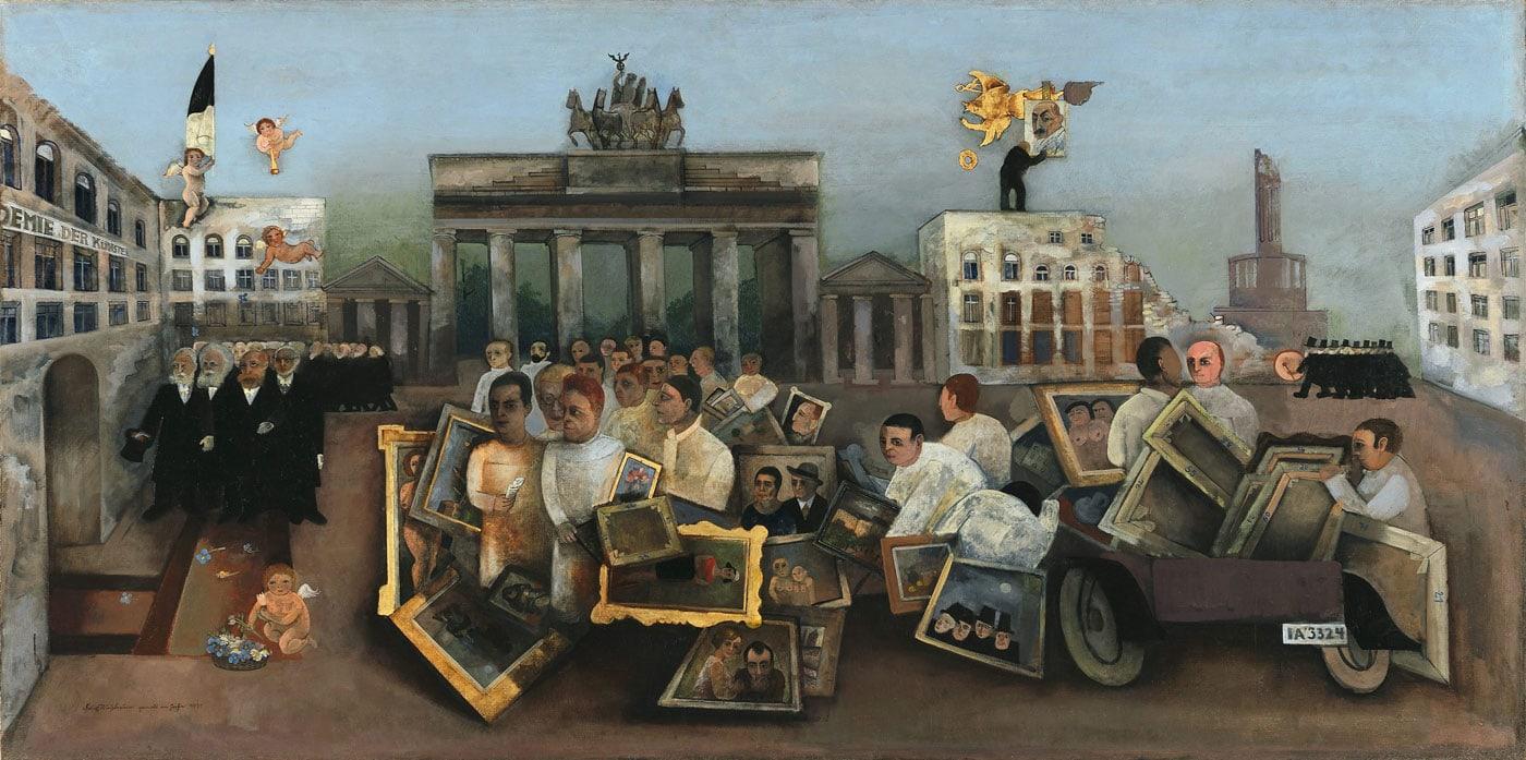 Berlinische Galerie: Kunst aus Berlin 1880-1980 // HIMBEER